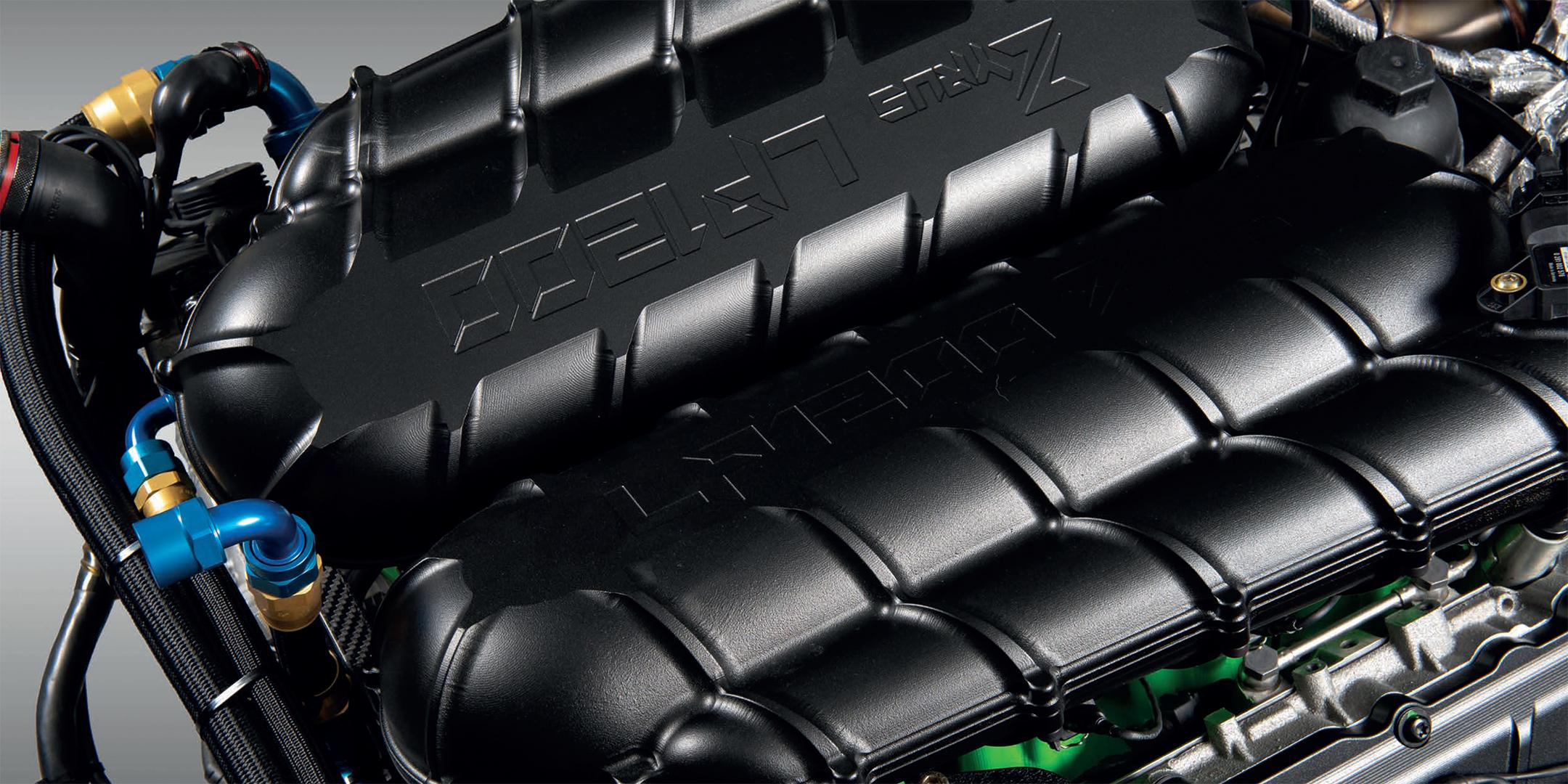 Zyrus LP1200 - 2020 - engine / moteur - V10 5.2L Twin Turbo - billett intake