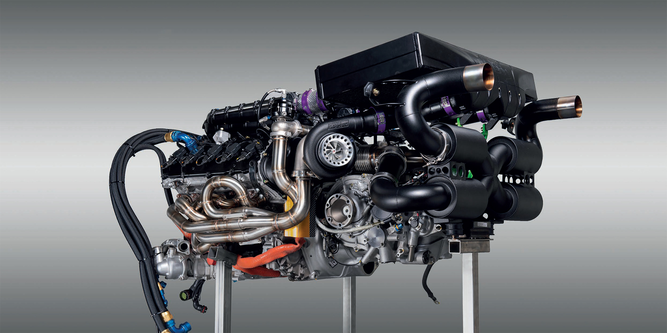 Zyrus LP1200 - 2020 - engine / moteur - V10 5.2L Twin Turbo