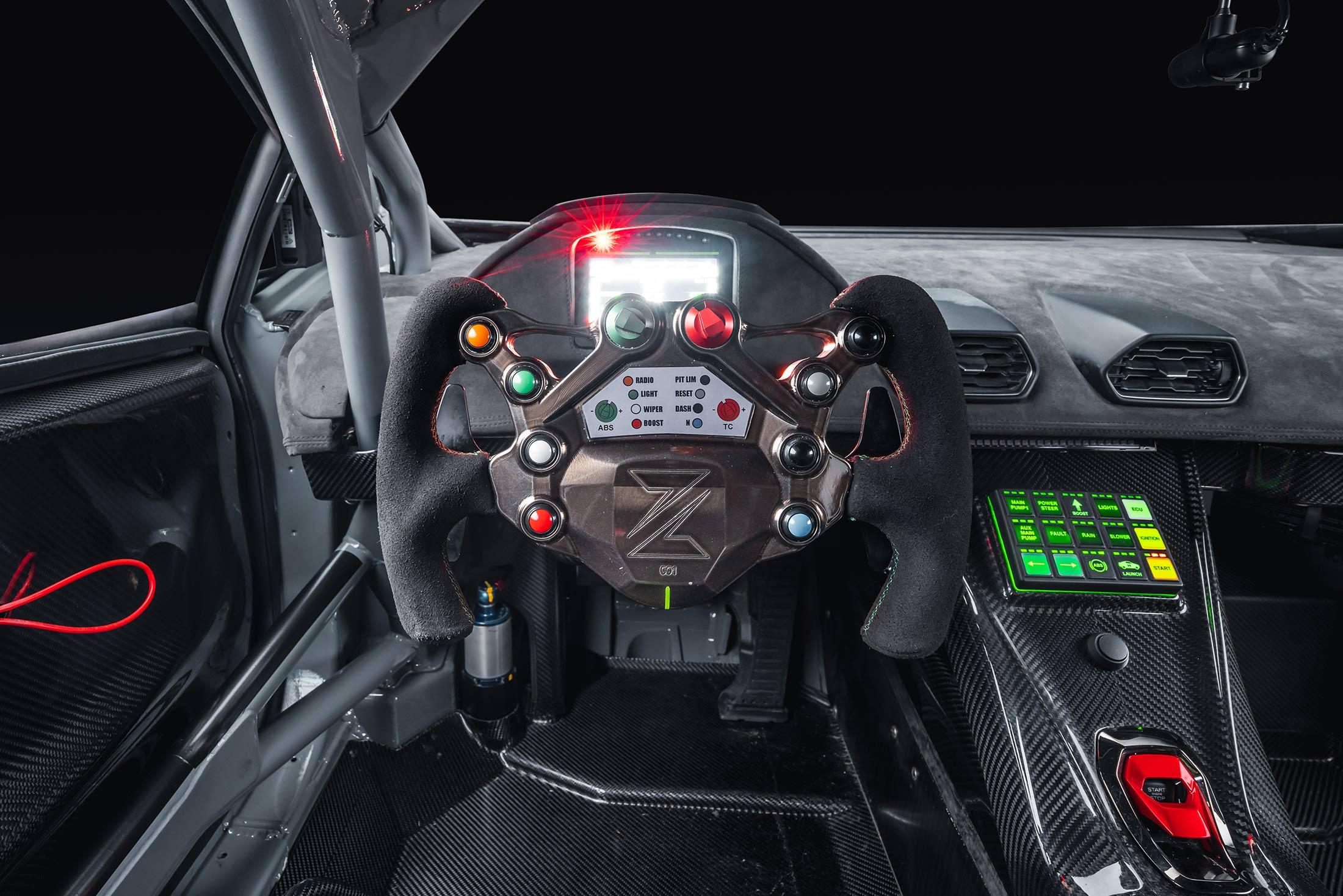 Zyrus LP1200 - 2020 - racing wheel / volant sport