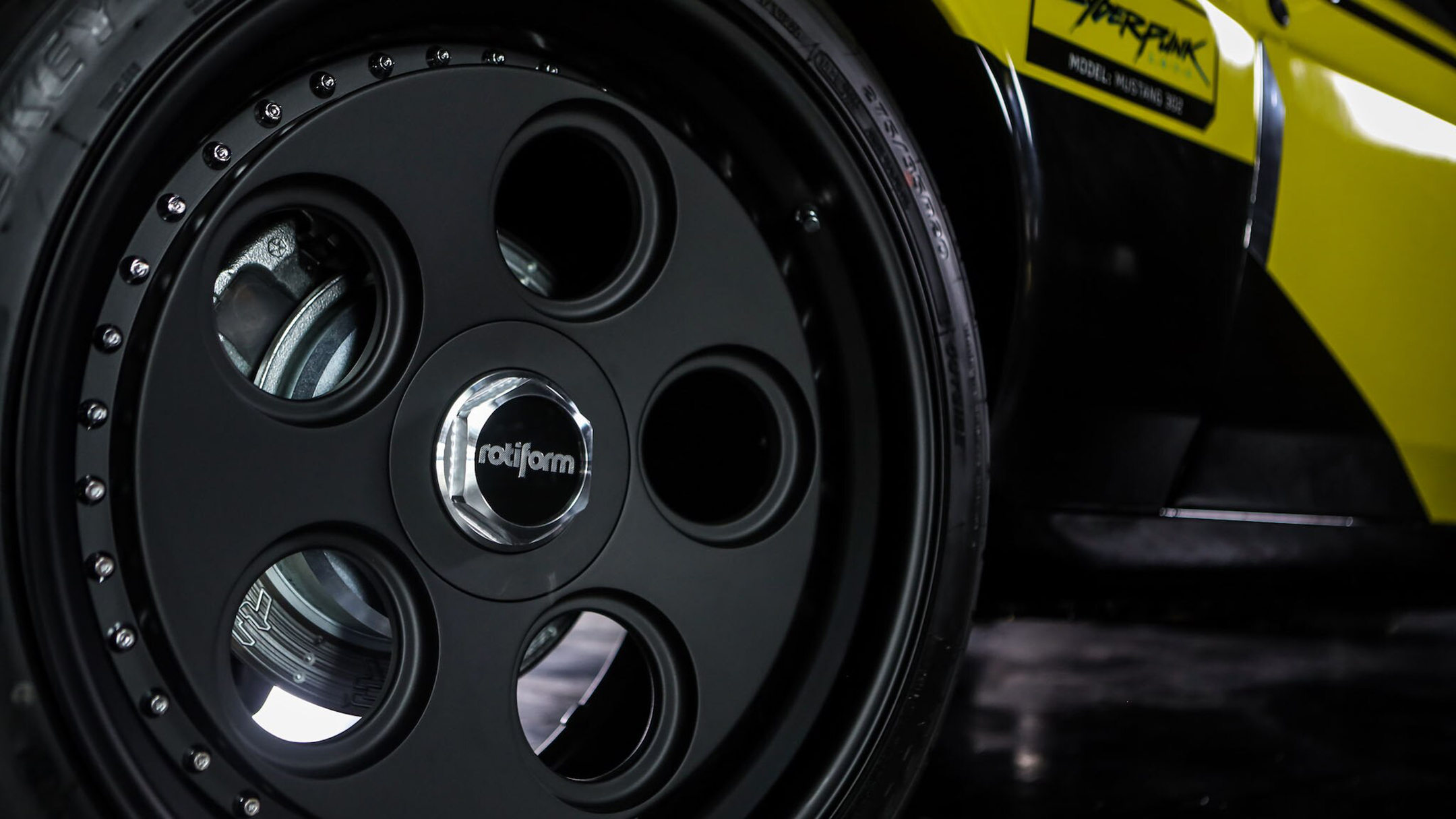 Quadra Type 66 base Ford Mustang Boss 302 - rear wheel / jante arrière - rotiform